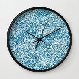 William Morris: Turquoise Botanical Wall Clock