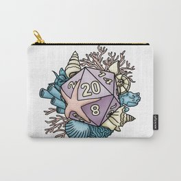 Mermaid D20 Tabletop RPG Gaming Dice Carry-All Pouch