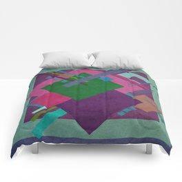 Geometric illustration 17 Comforters