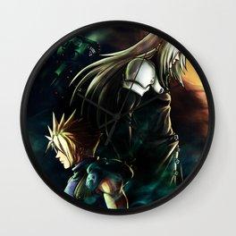 Final Fantasy VII fanart Poster Wall Clock