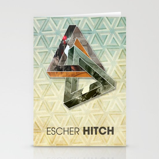 escher hitch Stationery Cards