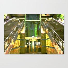 SUBWAY LA Canvas Print