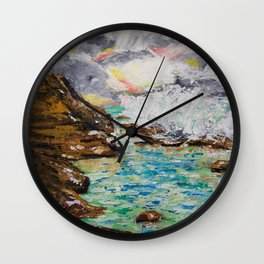 SUNRISE AT BURLEIGH HEADS Wall Clock