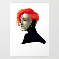 sci fi Art Prints featuring SCi by Noah Ocean