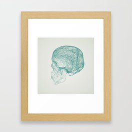 skull trails Framed Art Print
