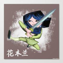 Mulan 2 Canvas Print