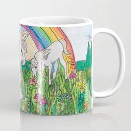 Unicorns, mother and child Coffee Mug