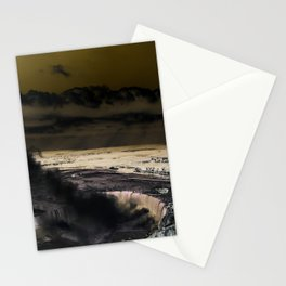 inverted horseshoe falls Stationery Cards