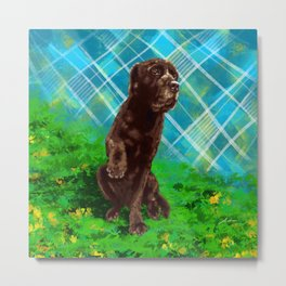 Nene the cutest dog Metal Print