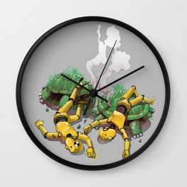 Crash test Wall Clock