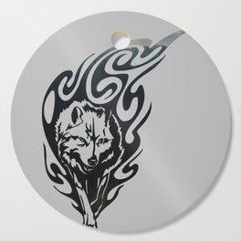 Diamond Eyes Wolf Cutting Board