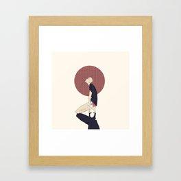 23 Framed Art Print