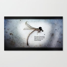 The Scent of Uncertainty Canvas Print