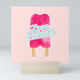 Ice Cream Summer Mini Art Print
