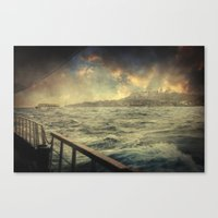 istanbul Canvas Prints featuring Istanbul by Taylan Soyturk