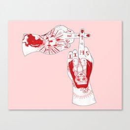 Holy Sh*& Canvas Print