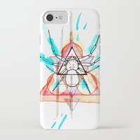 mother iPhone & iPod Cases featuring MOTHER by Mikah Washed