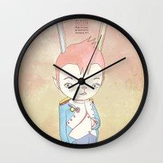 PAULPOLEON BONAPARTE PIERROT VIII Wall Clock