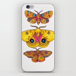 Multiple Moths iPhone Skin