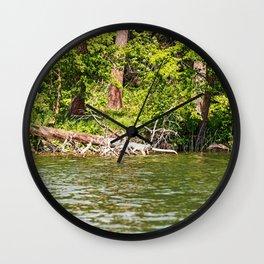 Lake Itasca - Minnesota, USA 12 Wall Clock