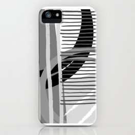 Grey Scale iPhone Case