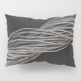 Twisted aluminum wires Pillow Sham