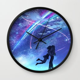 Your Name - Kimi No Na Wa Wall Clock