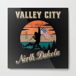Valley City North Dakota Metal Print
