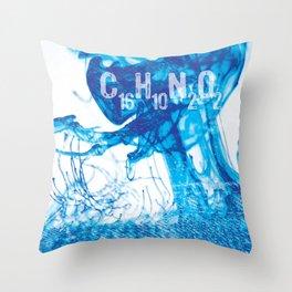 INDIGO - C16H10N2O2 Throw Pillow