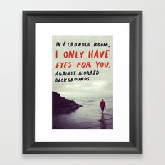 haiku #128 Framed Art Print