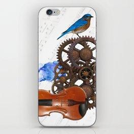 Music Collage iPhone Skin