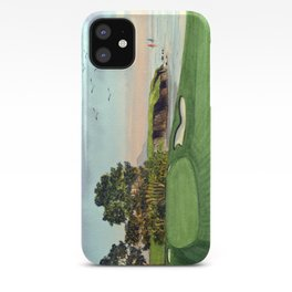 Pebble Beach Golf Course 5th Hole iPhone Case