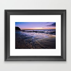 Headlands Dawn Framed Art Print