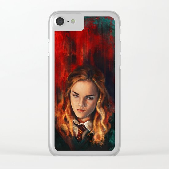 The brightest witch of her age Clear iPhone Case
