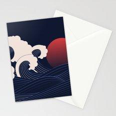 Japanese Sunset Stationery Cards