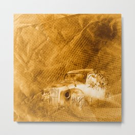 Ghost driver in the rust Metal Print