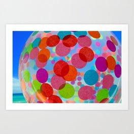 amazeballs Art Print