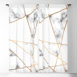Marble Geometry 054 Blackout Curtain