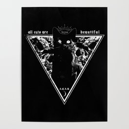 ALL CATS ARE BEUTIFUL Poster