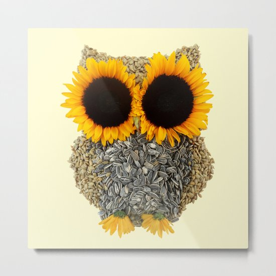 Hoot! Day Owl! Metal Print