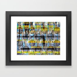 ABSTRACT/LIPSTICK ON A PIG Framed Art Print