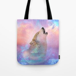 Dream By Day (Wolf Dreams - Remix Series) Tote Bag