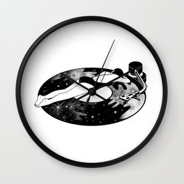Don't stop the lullaby Wall Clock