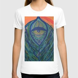 Feathered T-shirt