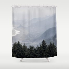 Shades of Obscurity Shower Curtain
