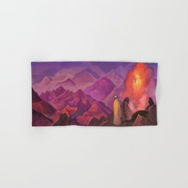 Nicholas Roerich - Mohammed The Prophet - Digital Remastered Edition Hand & Bath Towel
