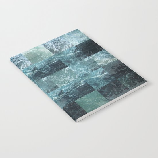 Abstract sea Notebook