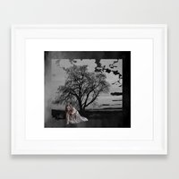zombie Framed Art Prints featuring zombie by Shea33