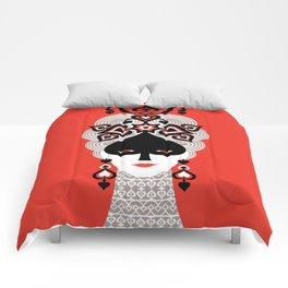 The Queen of spades Comforters