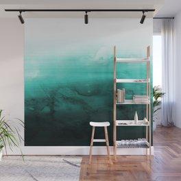 Green Lagoon Wall Mural